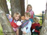 Écharpes STORCHENWIEGE/Echarpe  Porte-Poupée pour les petits