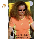 Racine/T-Shirt OM Orange-Soleil