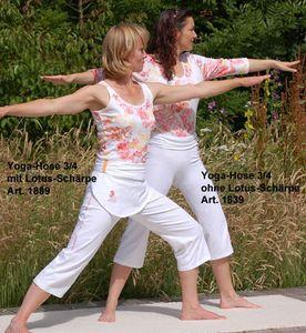 Fin de séries Pantacourt de yoga avec revers