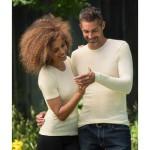 Vêtements et sous-vêtements laine et soie Engel Natur/SOUS-PULL en laine/soie – HOMME  ECRU