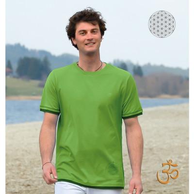 Racine T-Shirt BASIC VERT – Fleur de Vie
