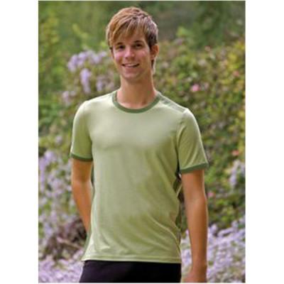 T-SHIRT Manches courtes T-Shirt en bambou manches courtes – VERT Bambout-Mousse