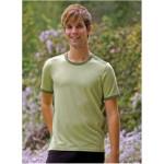 T-SHIRT Manches courtes/T-Shirt en bambou manches courtes – VERT Bambout-Mousse