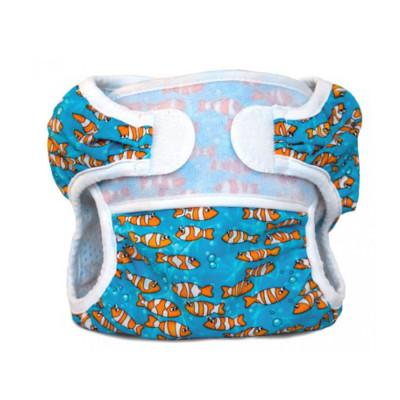 porte bonheur couche de piscine swimmi poissons clowns maillot de bain couche bummis. Black Bedroom Furniture Sets. Home Design Ideas