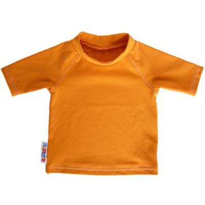 Coton Bio Ancienne Collection UV-TEE – T-SHIRT BEBE ANTI-UV ORANGE (UV50)