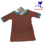Racine/STORCHENKINDER - T-Shirt NOUVEAU-NE en coton bio CHOCOLAT - taille 50/56