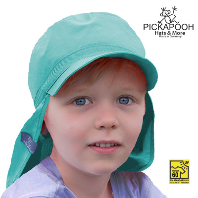 Racine PICKAPOOH – CASQUETTE DE SOLEIL ENFANT «HENRI» - TURQUOISE (UV80)