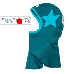 MANYMONTHS Collection LAINE/MANYMONTHS -CAGOULE « STAR » en pure laine mérinos