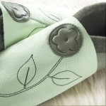 Racine/Chausson Pololo JASMINE olive-menthe – taille 44/45