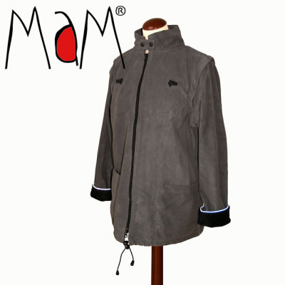 Racine MaM Two Way Jacket DELUXE – GRIS FONCE