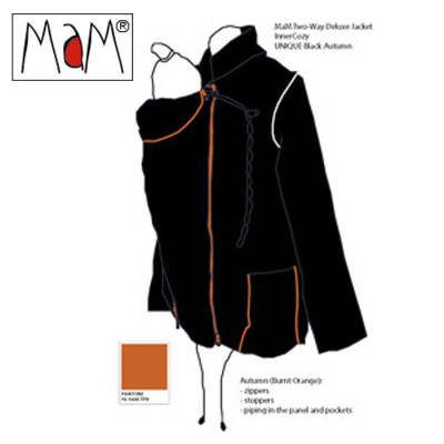 Racine MaM Two Way Jacket NOIR-AUTOMNE – imperméable