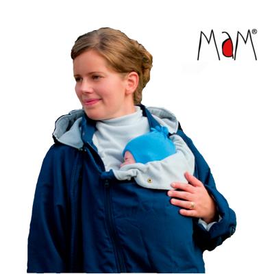 Racine MaM COAT – IRIS BLEU/GRIS CLAIR