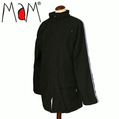Racine MaM COAT – BLACK