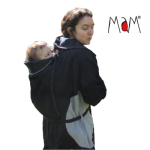 Vêtement de portage et de grossesse/MaM 2en1 VESTE-TUNIQUE de maternité en LAINE