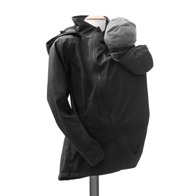 Vestes et manteaux MAMALILA casual MAMALILA - VESTE TOUTE-SAISON POUR DEUX - NOIR
