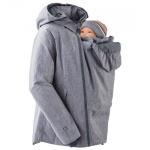 Vestes et manteaux MAMALILA outdoor/MAMALILA - Veste de grossesse et de portage HIVER – GRIS