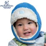 CHAPEAUX ET BONNETS/PICKAPOOH - Bonnet enfant FYNN BLEU