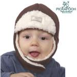 CHAPEAUX ET BONNETS/PICKAPOOH - Bonnet enfant FYNN CHOCO