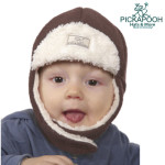 Bonnets hivers/PICKAPOOH - Bonnet enfant FYNN CHOCO
