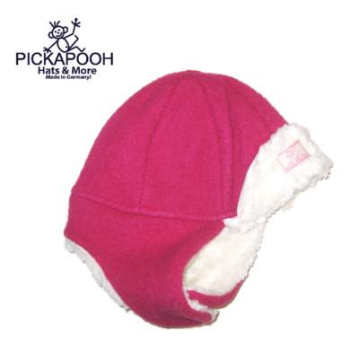 Bonnets hivers PICKAPOOH - Bonnet enfant FYNN FRAMBOISE