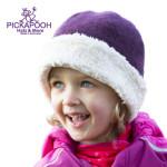 Bonnets hivers/PICKAPOOH - Bonnet en laine JO - CASSIS