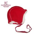 Bonnets hivers/PICKAPOOH - Bonnet Bébé en laine JAN - ROUGE
