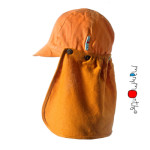 Collection MANYMONTHS en CHANVRE/Manymonths – CASQUETTE DE SOLEIL ajustable