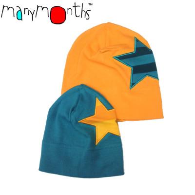 Racine MANYMONTHS – STAR BEANIE en coton bio