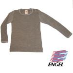 SOUS-VÊTEMENTS pour bébés et enfants/ENGEL – SOUS-PULL manches longues NOIX en laine/soie (86-152)