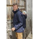 Racine/MAMALILA - Veste de portage Outdoor Homme - Softshell Bleu Marine