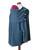 Vêtement de portage et de grossesse/MaM AISKA PONCHO LAINE - DARK HEATHER GREY - Poncho de portage