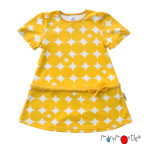 Collection MANYMONTHS en  COTON BIO/MANYMONTHS – ROBE-TUNIQUE à manches amovibles en coton bio