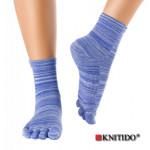 Chaussettes à doigts KNITIDO/Knitido - Chaussetttes à orteils anti-dérapantes – MYRTILLE