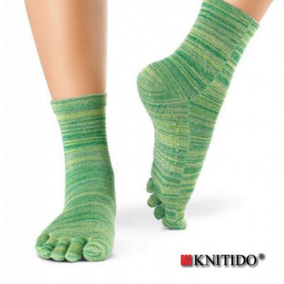 Chaussettes à doigts KNITIDO Knitido - Chaussetttes à orteils anti-dérapantes – VERT