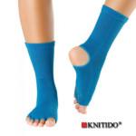 Chaussettes à doigts KNITIDO/Knitido – Chaussetttes anti-dérapantes ouvertes -PETROLE