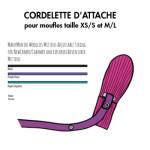 Moufles, col, écharpes, bandana/MANYMONTHS – Cordelette pour MOUFLES en pure laine mérnos