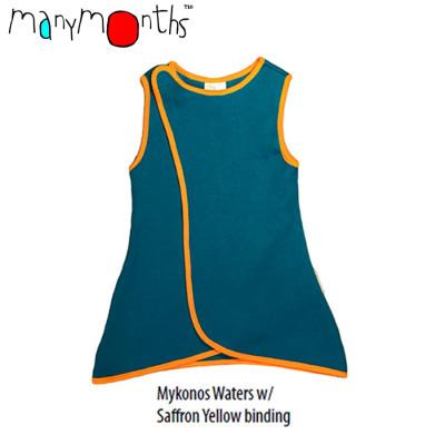 Racine MANYMONTHS – ORION WRAP – gilet sans manches en pure laine mérinos