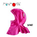 CHAPEAUX ET BONNETS/MANYMONTHS – CAGOULE «DENTELLE» en pure laine mérinos