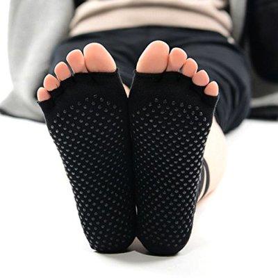 Racine Knitido - Chaussetttes à orteils anti-dérapantes – NOIR