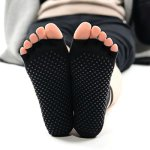 Racine/Knitido - Chaussetttes à orteils anti-dérapantes – NOIR