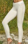 Pantalons/JEGGING Blanc nature/crème