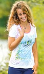 T-SHIRT Manches courtes T-shirt manches courtes Nénuphar