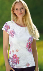 Racine T-shirt manches courtes Inspiration Mandala