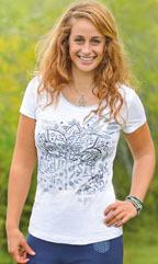 Racine T-shirt manches courtes Namasté