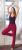Idées Cadeaux/PANTALON JUPE de yoga et bien-être ROUGE