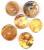 Ambre/Pendentif Ambre - Donuts brute