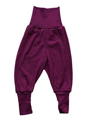 Sous-vêtements ENGEL –  Pantalon laine et soie à large ceinture Orchidée (62 au 92)