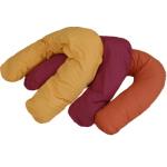 Racine/LOTUS NATURAL Housse pour moyen coussin d'allaitement et de relaxation BIO