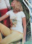 Racine/T-shirt manches courtes imprimé Ange