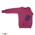 Débardeurs, T-shirts, pulls, multicapes et bodys/MANYMONTHS 2018/19 – PULL en pure laine mérinos avec coudes renforcés